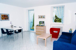 Information about different types of apartments in Lazise, a meeting point for many sport fans