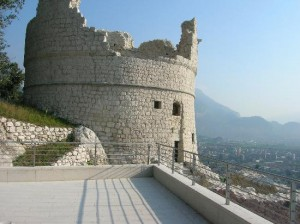 Forts and Fortresses in Riva del Garda, the city was a military outpost from the middle ages to the venetian domination