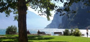 Beaches of Riva del Garda. Come and visit the wonderful beaches, grass or pebble you'll find what you're looking for.